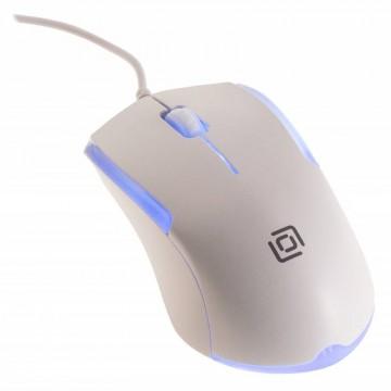 Мышь Oklick 245M, белый,...