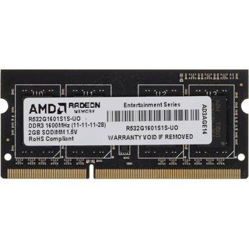 Память DDR3 2Gb 1600MHz AMD...
