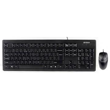 Клавиатура + мышь A4...