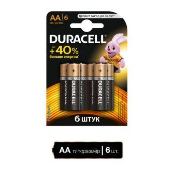 Батарея Duracell Basic LR6-6BL