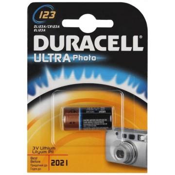 Батарея Duracell Ultra CR123A