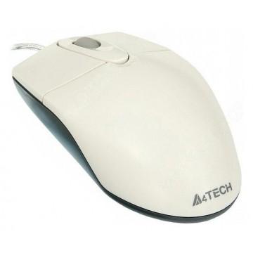 Мышь A4 OP-720, белый,...