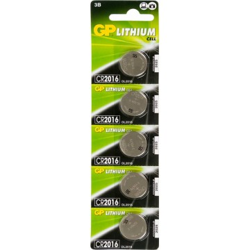Батарея GP Lithium CR2016