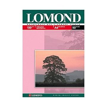 Фотобумага Lomond 0102043 A4/150г/м2/25л./белый глянцевое для струйной печати