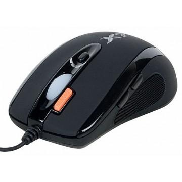 Мышь A4 X-718BK, черный,...
