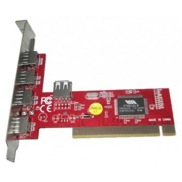 Контроллер PCI VIA6212...